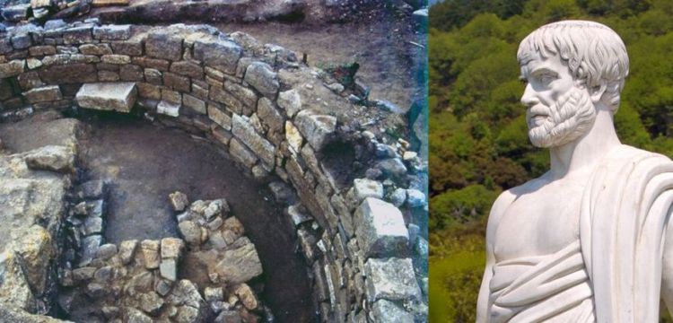 great archaeological discovery, tomb of the philosopher Aristotle 2