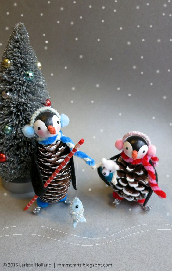 40 Easy And Cute Diy Pine Cone Christmas Crafts Moco Choco